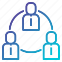 diagram, hierarchy, network, structure, workflow