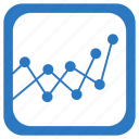 analytics, chart, graph, mathematics, statistics icon
