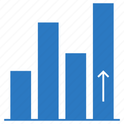 chart, diagram, graph, growth, statistics icon