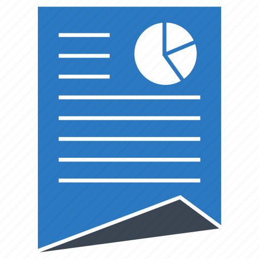 document, page, paper, report, sheet icon