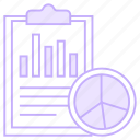 document, graph, report, sheet, statistics icon