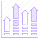 chart, diagram, growth, mathematics, statistics icon