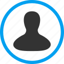 avatar, client profile, customer, man, member, person, user account icon