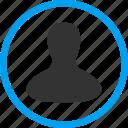 customer, client profile, member, person, user account, avatar, man