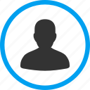 avatar, client profile, human, man, member, person, user account icon