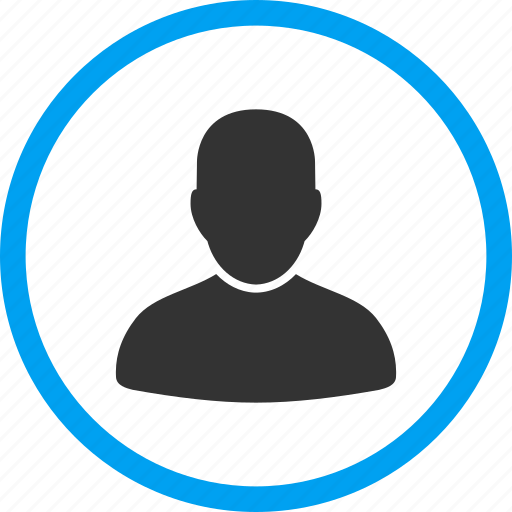 avatar, client profile, customer, human, manager, member, user account icon