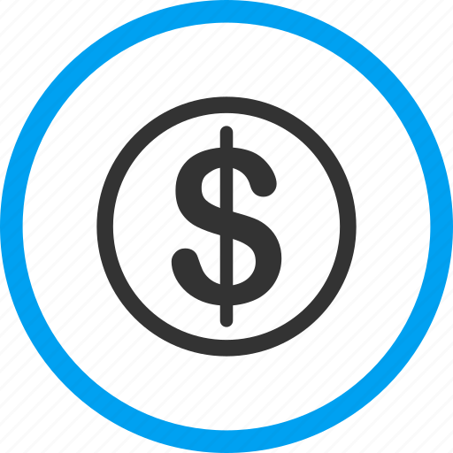 Financial, finance, business, banking, dollar, cash, currency icon