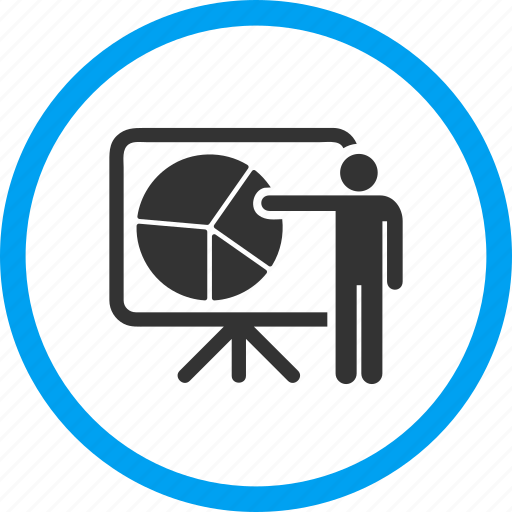 chart, graph, plan, presentation, project, public report, screen icon