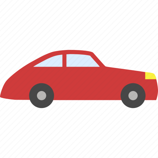 auto, automobile, car, red car, taxi, traffic, transport, transportation, van, vehicle icon