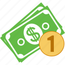 account, bank, banking, banknote, banknotes, business, buy, cash, check, coin, currency, dollar, donation, finance, financial, income, invest, invoice, money, one coin, order, pay, payment, price, rich, sale, sales, shop icon