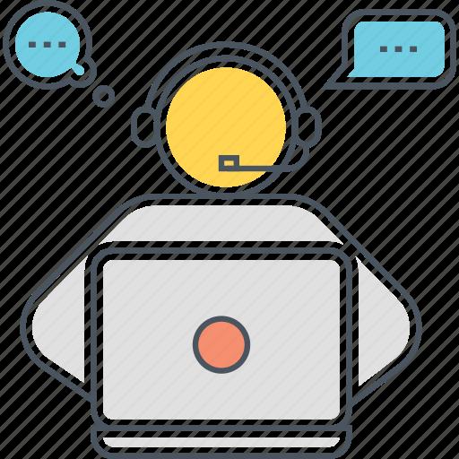 call center, call centre, customer service, customer support, tech support icon