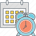 alarm, calendar, countdown, deadline, event, plan, schedule icon