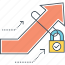 growth, growth hacking, hacking, potential unlock, unlock, unlock potential icon