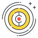 challenge, goal, mission, objective, target icon