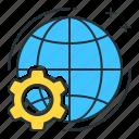 global, global progress, nationwide, progress, worldwide icon