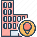 business, location, map, office