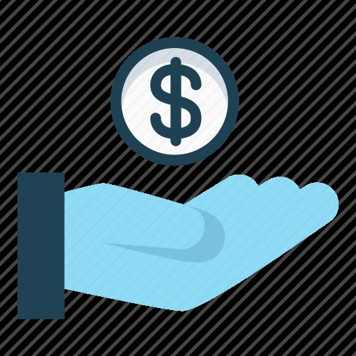 cash, cash out, dollar, donate, pay, payment, revenue icon