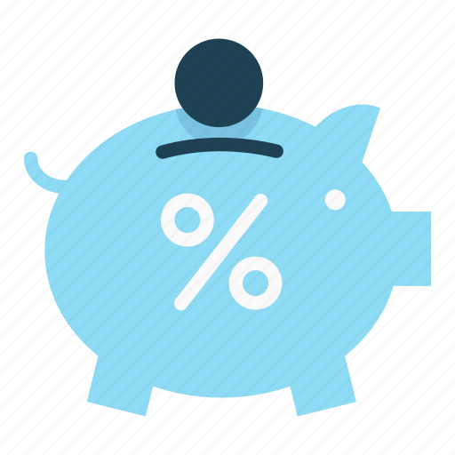 cash, currency, money, piggy bank, save, save money icon