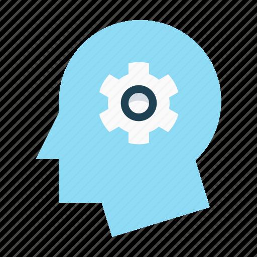 gear, implementation, innovation, integration, productivity, progress icon