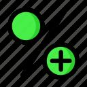 interest, percent, profit icon