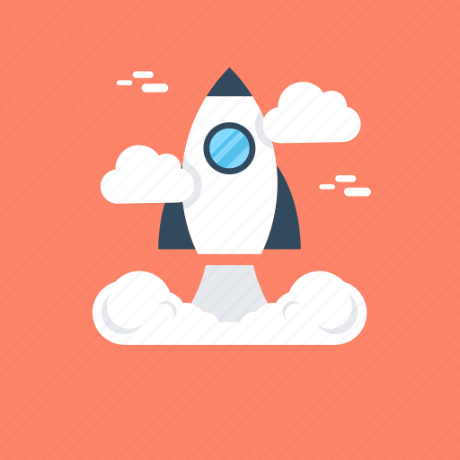 launch, missile, rocket, start, startup icon