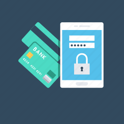 commerce, credit card, internet banking, secure banking, secure payment icon
