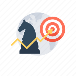 business strategy, campaign strategy, innovation, marketing, strategy icon
