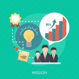 chart, energy, future, goal, idea, man, mission icon