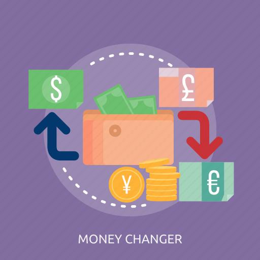 bank, dollar, money, money changer, purse icon