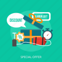 bomb, discount, gift, offer, shop, special, time icon
