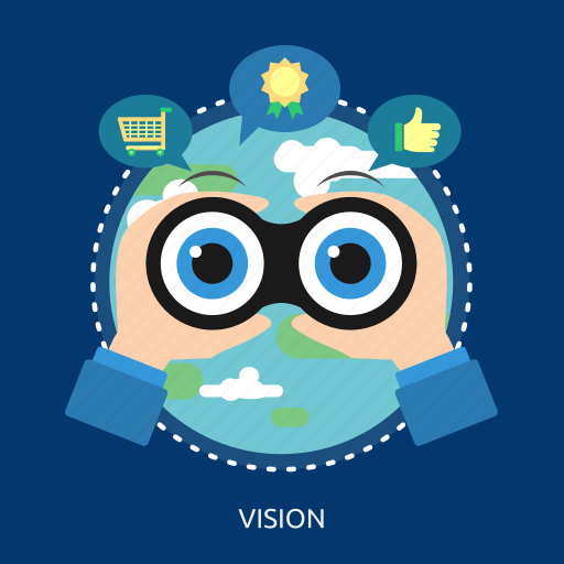 earth, future, goal, like, medal, mision, vision icon