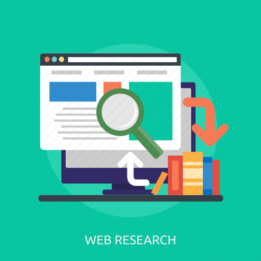 book, computer, internet, online, search, web research, website icon