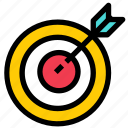 accurate, business, dart, target icon