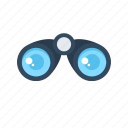 binocular, field glass, research, view, zoom icon