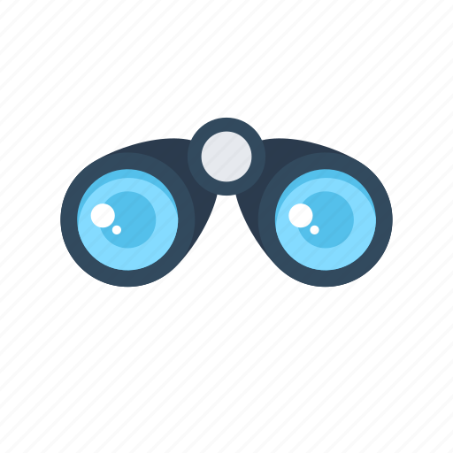 binocular, field glass, research, view, zoom icon
