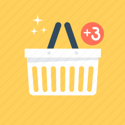add item, add product, add to basket, shopping, shopping basket icon