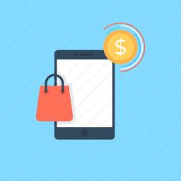 cellphone, mobile phone, mobile shop, mobile shopping, mobile store icon