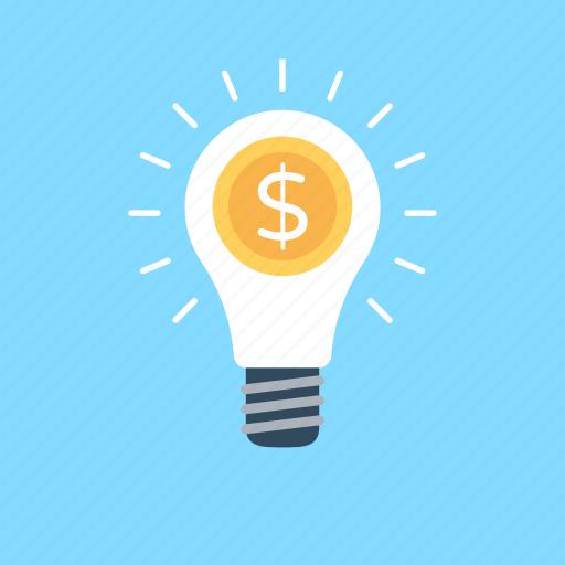 bulb, business idea, idea, smart solution, solution icon