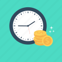 business, economy, finance, investment, investment time icon
