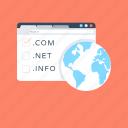 domain, domain registration, domain type, web domain, www