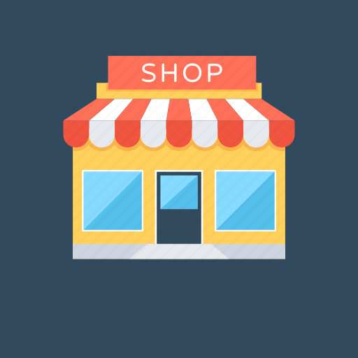 market, retail shop, shop, shopping store, store icon