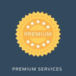 premium, premium service, ranking, rating, vip service icon