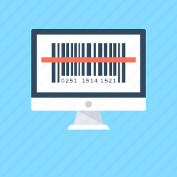 barcode, barcode reader, barcode tag, price barcode, universal product code icon