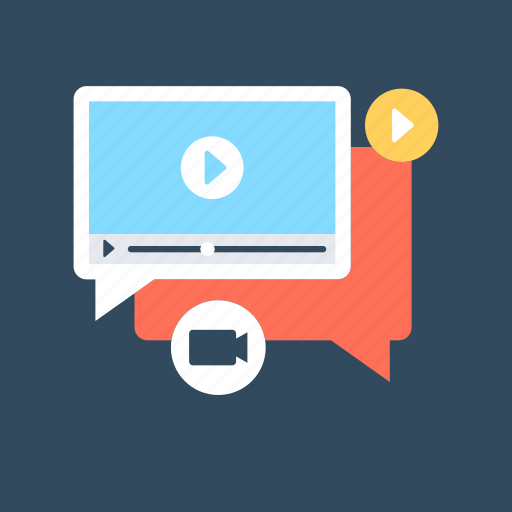 marketing, video advert, video marketing, video online, video player icon