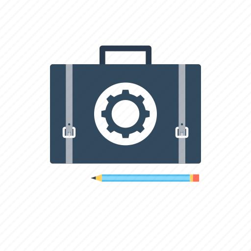 cms, content management, content strategy, pencil, portfolio icon