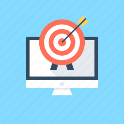 campaign managment, finance target, focus, target icon