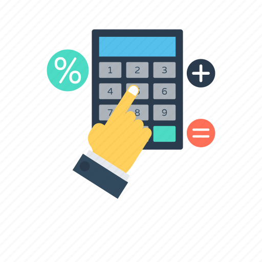 accounting, calculating device, calculation, digital calculator, mathematics icon