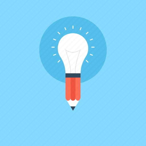 bright idea, bulb, idea, illuminate, strategy icon