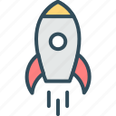 campaign, launch, missile, product, release, rocket, startup