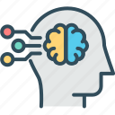 brain, brainstorming, data, genius, intelligent, mind, processing